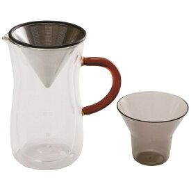 ラッキーコーヒーマシン LUCKY COFFEE MACHINE bonmac(ボンマック)ダブルウォールコーヒーカラフェセット 700ml[ダブルウォールコーヒーカラフェセット]