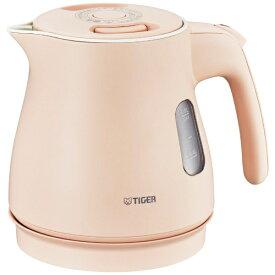 タイガー TIGER PCM-A080 電気ケトル わく子 シェルピンク [0.8L][PCMA080PS]