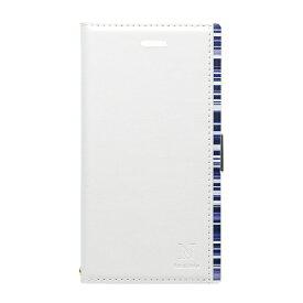 ナチュラルデザイン NATURAL design iPhone8/7/6s/6 (4.7) アクセントボーダー手帳型ケース