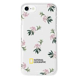 ROA ロア iPhone8/7 Flower Pattern スタイル ケース Jelly NG13016I8