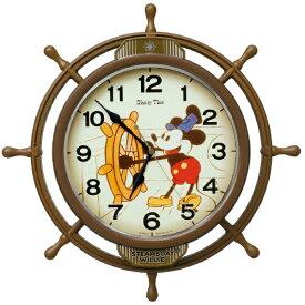 セイコー SEIKO 掛け時計 【Disney Time(ディズニータイム)ミッキー&フレンズ】 茶 FW583A [電波自動受信機能有][FW583A]