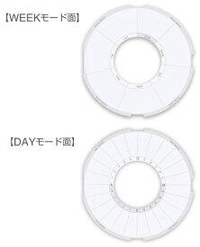 キングジム KING JIM 習慣時計「ルクル」専用スケジュ−ル台紙 RUCP3
