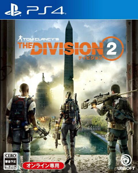 ユービーアイソフト ディビジョン2【PS4】