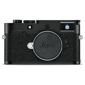 ライカ 20021 レンジファインダーデジタルカメラ ライカM10-P BLACK CHROME FINISH [ボディ単体][20021]