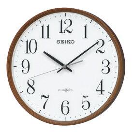 セイコー SEIKO 掛け時計 【スペースリンク(衛星電波クロック)】 濃茶木目模様 GP220B [電波自動受信機能有]