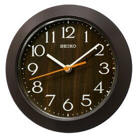 セイコー SEIKO 掛け置き兼用時計 【ナチュラルスタイル】 濃茶 KX245B [電波自動受信機能有]