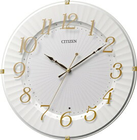 シチズン CITIZEN 掛け時計 8MY537-018 [電波自動受信機能有]