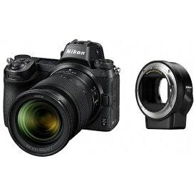 ニコン Nikon Nikon Z 6 ミラーレス一眼カメラ ブラック [ズームレンズ][FTZ マウントアダプター][Z6LK2470FTZKIT]