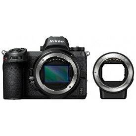 ニコン Nikon Nikon Z 6 ミラーレス一眼カメラ ブラック [ボディ単体][FTZ マウントアダプター][Z6FTZKIT]