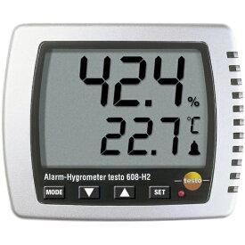 テストー Testo テストー 卓上式温湿度計(LEDアラーム付)[TESTO608H2]
