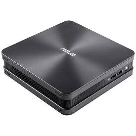 ASUS エイスース VC65-C1G5011ZN デスクトップパソコン VivoMini アイアングレー [モニター無し /intel Core i5 /HDD:500GB /SSD:128GB /メモリ:8GB /2018年8月モデル][本体のみ 新品 windows10 VC65C1G5011ZN]