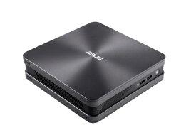 ASUS エイスース VC65-C1G7010ZN デスクトップパソコン VivoMini グレー [モニター無し /HDD:500GB /SSD:128GB /メモリ:16GB /2018年8月モデル][本体のみ 新品 windows10 VC65C1G7010ZN]