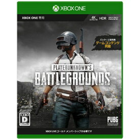 マイクロソフト Microsoft PLAYERUNKNOWN'S BATTLEGROUND 製品版【Xbox One】