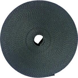 トラスコ中山 TRUSCO ナイロン平ベル 1.6t×30mm×10m 黒