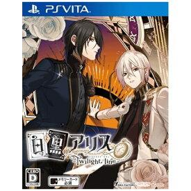 アイディアファクトリー IDEA FACTORY 白と黒のアリス -Twilight line- 通常版【PS Vita】