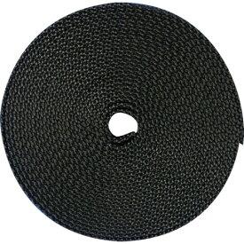トラスコ中山 TRUSCO ナイロン平ベル 1.6t×38mm×5m 黒