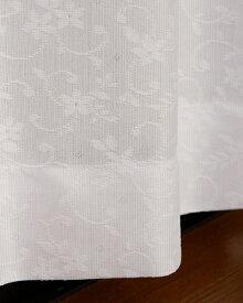東京シンコール TOKYO SINCOL 2枚組レースカーテン ルーク(100×133cm/ホワイト)