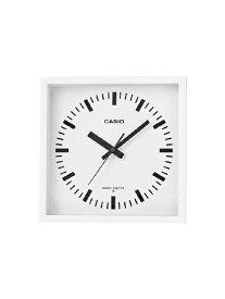 カシオ CASIO 掛け時計 【wave ceptor(ウェーブセプター)】 ホワイト IQ810J7JF [電波自動受信機能有]