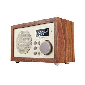 MSソリューションズ LP-SPBT04WN ブルートゥース スピーカー Classica BOLERO(クラシカ ボレロ) ウォールナットウッド調 [Bluetooth対応][スピーカー bluetooth 高音質 LPSPBT04WN]
