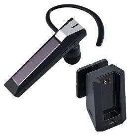 セイワ SEIWA CORPORATION モノラルハンズフリー bluetooth 5.0 + USB / DC充電クレードル BTE112 ブラック [Bluetooth /ノイズキャンセリング対応][BTE112]