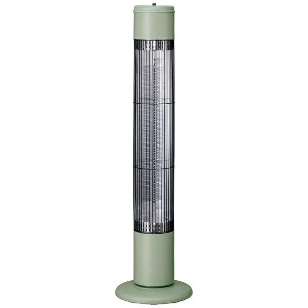 【送料無料】 Three-up スリーアップ CB-T1831 電気ストーブ NOPPO(ノッポ) レトログリーン [カーボンヒーター /首振り機能]