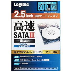 エレコム ELECOM LHD-N500SAK2 内蔵ハードディスク [2.5インチ /500GB][LHDN500SAK2]