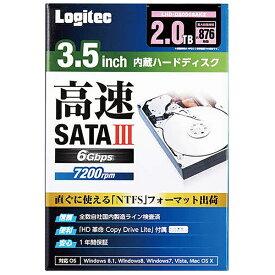 エレコム ELECOM LHD-D2000SAK2 内蔵HDD LHD-DASAK2シリーズ [3.5インチ /2TB][LHDD2000SAK2]