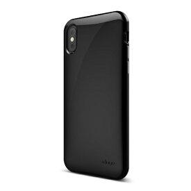 サンクチュアリ Sanctuary iPhone X用 elago S8 CUSHION(エラゴクッション) EL_I8NCSPCCN_BK ブラック