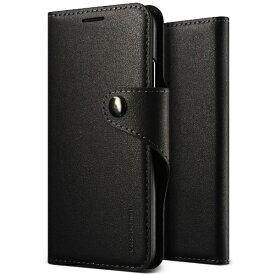 サンクチュアリ Sanctuary iPhone X用 VRS DESIGN Daily Diary(デイリーダイアリー) VR_I8NCSPLDD_BK ブラック