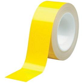 ミドリ安全 MIDORI ANZEN ミドリ安全 ベルデビバハードテープ 黄 50mmx20m