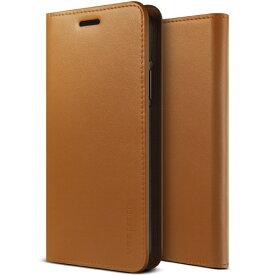 サンクチュアリ Sanctuary iPhone X用 VRS DESIGN Genuine Leather Diary(ジェニュインレザーダイアリー) VR_I8NCSGLGD_BR ブラウン