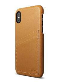 サンクチュアリ Sanctuary iPhone X用 elago S8 GENUINE LEATHER(エラゴ ジェニュインレザー) EL_I8NCSPCGL_BR ブラウン