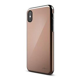 サンクチュアリ Sanctuary iPhone X用 elago S8 SLIM FIT 2(エラゴ スリムフィット2) EL_I8NCSPCF2_RG ローズゴールド