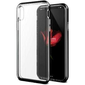サンクチュアリ Sanctuary iPhone X用 VRS DESIGN Crystal Bumper(クリスタルバンパー) MIL VR_I8NCSDLCR_BK ブラック