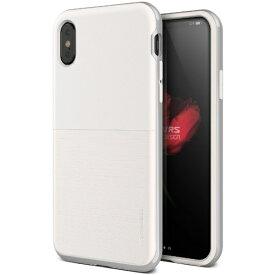 サンクチュアリ Sanctuary iPhone X用 VRS DESIGN High Pro Shield-S(ハイプロシールド-S) MIL VR_I8NCSDLH2_CW ホワイト&シルバー