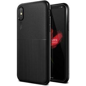 サンクチュアリ Sanctuary iPhone X用 VRS DESIGN Single Fit(シングルフィット) VR_I8NCSTPSF_BK ブラック