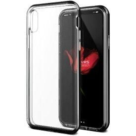 サンクチュアリ Sanctuary iPhone X用 VRS DESIGN Crystal Bumper(クリスタルバンパー) MIL VR_I8NCSDLCR_MB メタルブラック