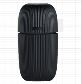 TPO B-AK02 加湿器 TPO ブラック [超音波式][BAK02K]【加湿器】