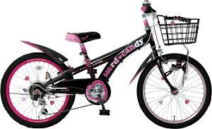 タマコシ Tamakoshi 20型 子供用自転車 ハードキャンディCTB206(ブラック/6段変速)【組立商品につき返品不可】 【代金引換配送不可】
