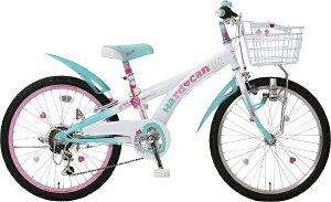 タマコシ Tamakoshi 22型 子供用自転車 ハードキャンディCTB226(グリーン/6段変速)【組立商品につき返品不可】 【代金引換配送不可】