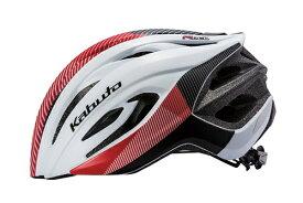 OGK 自転車用 ヘルメット OGK KABUTO カブト(M/Lサイズ:57〜60cm/マットホワイトレッド) RECT G-1