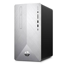 HP ヒューレット・パッカード 3JU54AA-AAAG デスクトップパソコン Pavilion ブラッシュドシルバー [モニター無し /HDD:2TB /SSD:256GB /メモリ:8GB /2018年9月][3JU54AAAAAG]【point_rb】