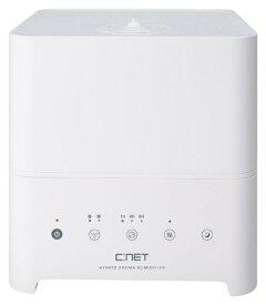 シィーネット C:NET CKH401 加湿器 ホワイト [ハイブリッド(加熱+超音波)式 /約4L]