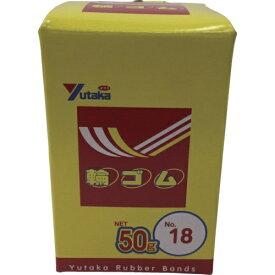 ユタカメイク YUTAKA ユタカメイク 輪ゴム箱入り #18 50g