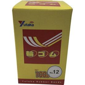 ユタカメイク YUTAKA ユタカメイク 輪ゴム箱入り #12 100g