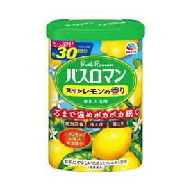 アース製薬 Earth バスロマン 爽やかレモンの香り [入浴剤]