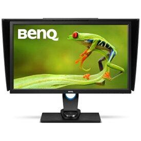 BenQ ベンキュー SW2700PT 27型カラーマネジメントモニター/ディスプレイ(2560×1440/IPS/16:9/AdobeRGB 99%/ハードウェアキャリブレーション対応/モノクロモード/OSDコントローラー)遮光フード同梱 SWシリーズ ブラック SW2700PT [27型 /ワイド /WQHD(2560×1440)]