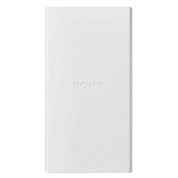 ソニー SONY CP-V10BA モバイルバッテリー ホワイト [10000mAh /microUSB /充電タイプ]