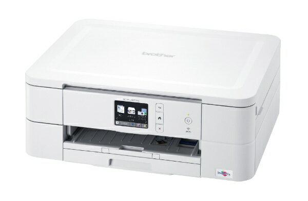 【送料無料】 ブラザー brother DCP-J577N インクジェット複合機 PRIVIO(プリビオ) ホワイト [L判〜A4]