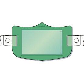 つくし工房 TSUKUSHI KOBO つくし e帽章 透明ポケット付き 緑 ヘルメット用樹脂バンド付